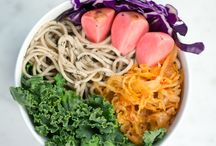 Buddha Bowls & Noodle Bowls & Fruity Bowls & more bowls / Quick & Easy recipes including Eden Food products.