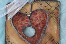 Jewelery encaustic art