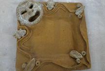 My pottery / Pottery pieces from Burdekin Potters Assoc. made by Sheila Samu-Doig