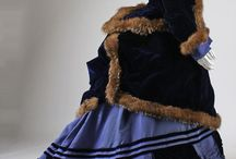 Victorian Bustle Dresses / A collection of pretty Victorian Dresses for inspiration in the future