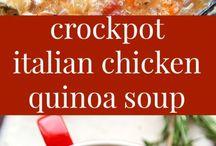 New Mom Crockpot Meals / Quick, easy prep crockpot/one-pot dinners for Jocey