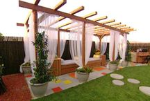 Back Yard Pergola Ideas