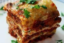Lasagne de all receip