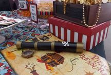 Ahoy! Pirates! / Pirate themed kids room decorations and party decors.