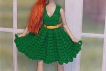 vestidos para bonecas