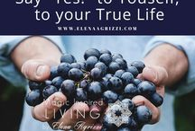 Inspirational quotes. Magic Inspired Living by Elena Agrizzi