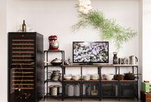 Places We've Lived / Urban condo interior decoration