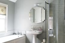 bathroom renovation  / by Amber Hood