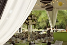 """Tented Weddings / by """"I Do""""...Balloons, Weddings, & Events"""