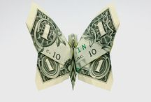 The Art Of Money Origami  / by Terri Altherr