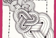 Zentangle-patronen