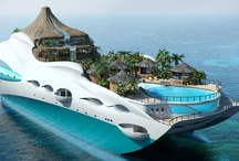 Floating / amphibious structures / by V | BouwSystemen