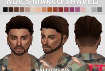 The Sims 4 male hair