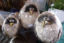 zwierzaki ceramiczne
