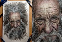 Old man Pencil Drawing by AtomiccircuS on DeviantArt