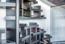Wine Room cabinetry / Creative Woodworks Inc