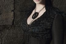 Sansa black dress