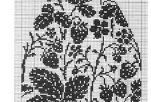 Easter cross stitch / haft wielkanocny