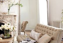 Parisan interiors / Classic interiors influenced by the romantic Parisian era.