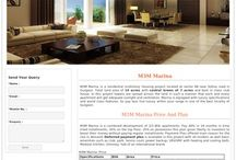 M3M Marina Project / M3M Marina is a residential multistory housing project located at sector 68 near Sohna road in Gurgaon. Total land area of 15 acres with central Green of 7 acres and best in class club house. In this project towers are spread across the land in such a manner that each and every apartment will get adequate sunlight and ventilation. Marina is equipped with luxury specifications and world class features. So pay less live luxury within your range in one of the best locality of Gurgaon.