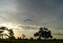 voo paramotor