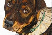 Собаки-мозаика