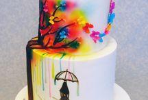 49th birthday  cake