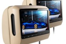 """9"""" Headrest DVD Players by Xtrons / Xtrons universal 9"""" headrests are a great in car entertainment upgrade for the larger vehicle. Available in black, grey or beige faux leather cushions with integrated DVD/SD/USB drives. Some models are available with HDMI as well, which is ideal if you are looking for extra quality. Our premium 9"""" models include touch screen operation, which is also ideal for the executive vehicle. Also available at www.xtrons.com and www.xtrons.co.uk"""