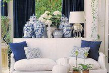 Blue&white / Interiør
