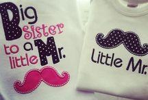Baby / big sister shirts