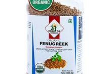 Buy Online 24 Mantra Organic Fenugreek Seed  from USA