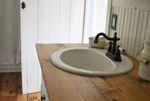 Farmhouse/Rustic bathroom ideas