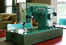 Home decor: Sew vintage / Vintage sewing machine are one of my most favourite things!