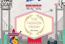 The Fashion Friday's Grand Indonesia Exhibition / save the date!! from 6th to 9th November 2014, The Fashion Friday will be on Grand Indonesia Exhibition Hall Level 5 ❤️ don't forget to visit our booth
