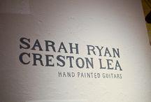 maľované gitary / hand painted guitars