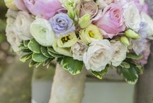 Sian and Nick / May 2015 - Pastels, very pale blushes, champagne colours with shell pinks.
