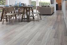 Kitchen bamboo flooring