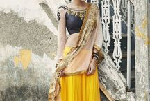 Indian clothes.