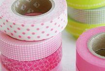 Washi Tape - Renkli Bantlar