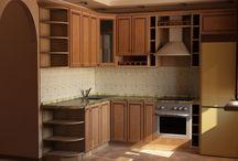 3d панорамы кухни / 3d дизайн интерьера кухни