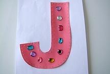 """Letter """"J"""" Crafts / by Vicky Engdahl"""