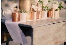 Hochzeit: Kupfer & Beton