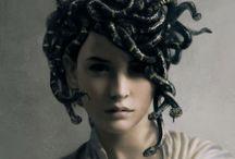 Mythology: Medusa / The gorgon, Medusa.