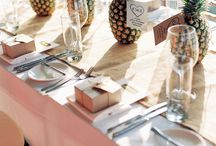 Place Setting Tropical