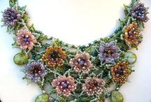 beaded flowers / by Dory Chasanoff