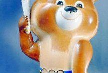 Olympic Bear MISHA Moscow 1980