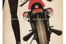 Lady Biker poster