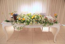 ゲストテーブル メインテーブル