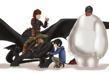 DreamWorks / Disney / Funny, marvellous and interesting