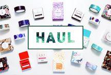 ✦ Dunkelgefunkels Hauls / Hier findest du alle kreativen Produktvorstellungen von Dunkelgefunkel